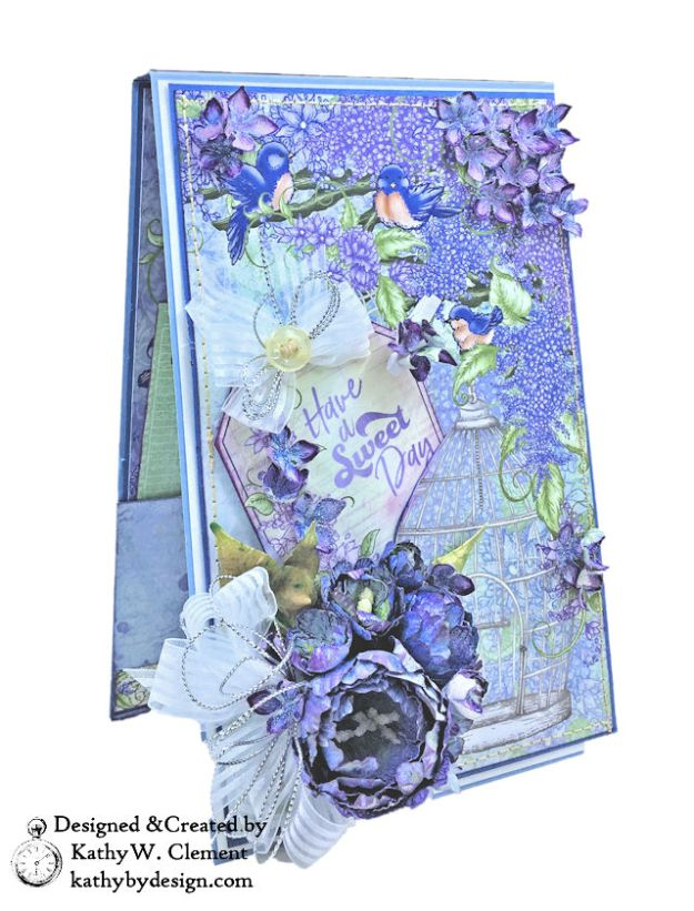 Sweet Day Lush Lilac Get Well Card by Kathy Clement Product by Heartfelt Creations Photo 01