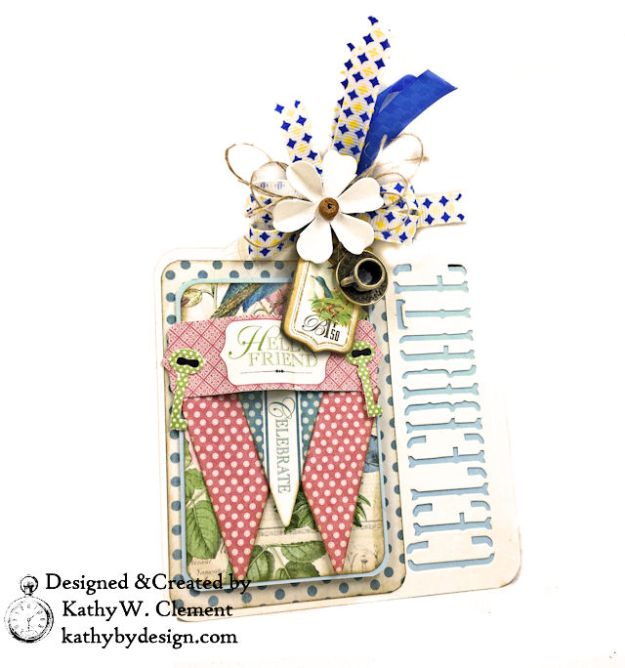 Graphic 45 Botanical Tea Party Box by Kathy Clement for Really Reasonable Ribbon Photo 09