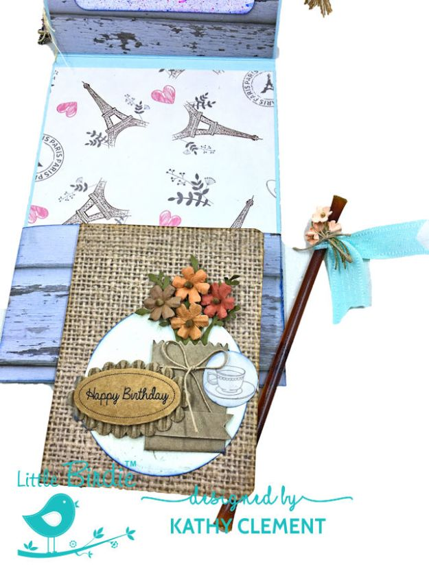 Little Birdie Crafts Sweet as Honey Summertime Card Tutorial by Kathy Clement Photo 04