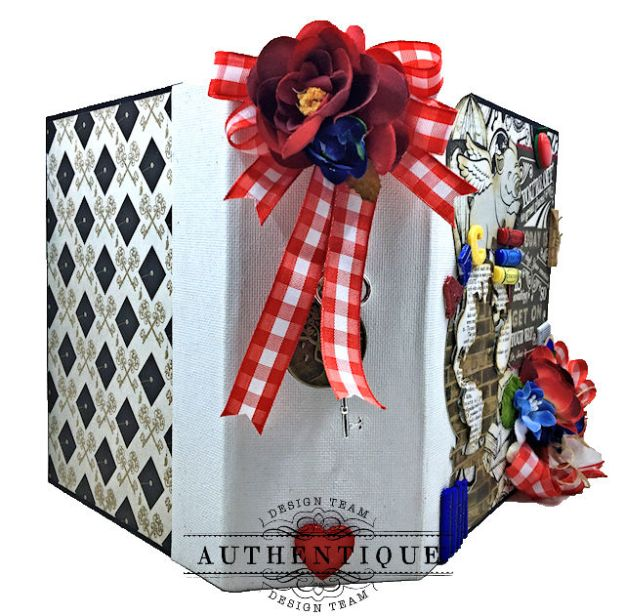 Authentique Paper Goes Back to School Accolade Mini Album by Kathy Clement Photo 03