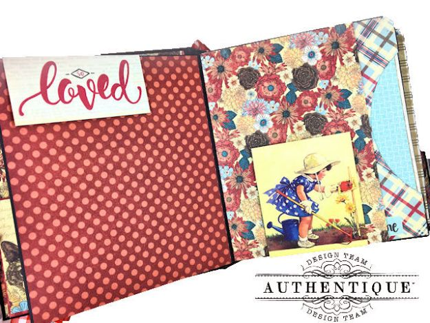 Authentique Paper Goes Back to School Accolade Mini Album by Kathy Clement Photo 06