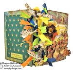 Fabulous Fall Stash Buster Mini Album by Kathy Clement for Really Reasonable Ribbon Photo 02