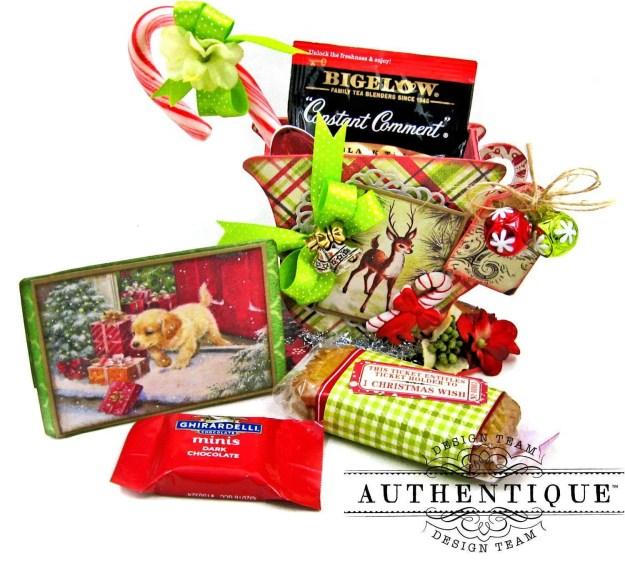 Authentique Nostalgia Christmas Teacups by Kathy Clement Photo 09