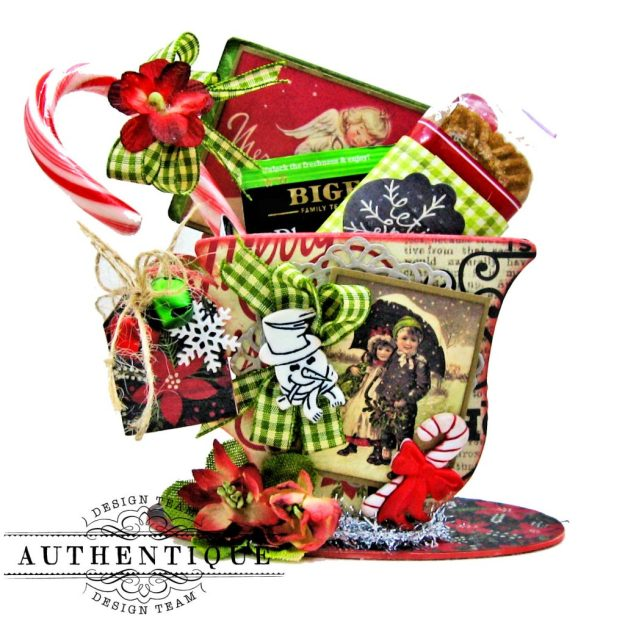 Authentique Nostalgia Christmas Teacups by Kathy Clement Photo 10