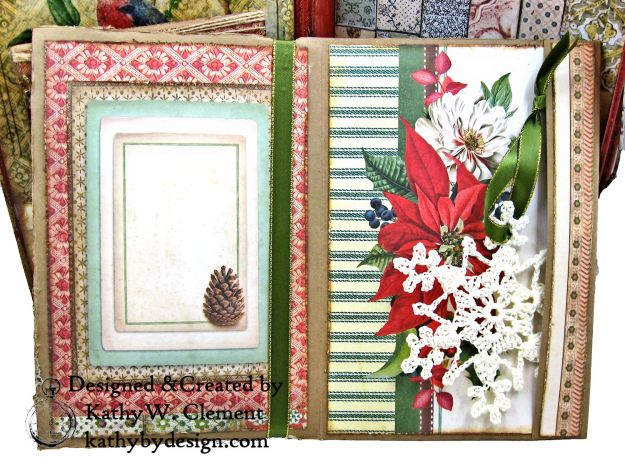 Stamperia Winter Botanic Christmas Box by Kathy Clement for The Funkie Junkie Boutique Photo 11
