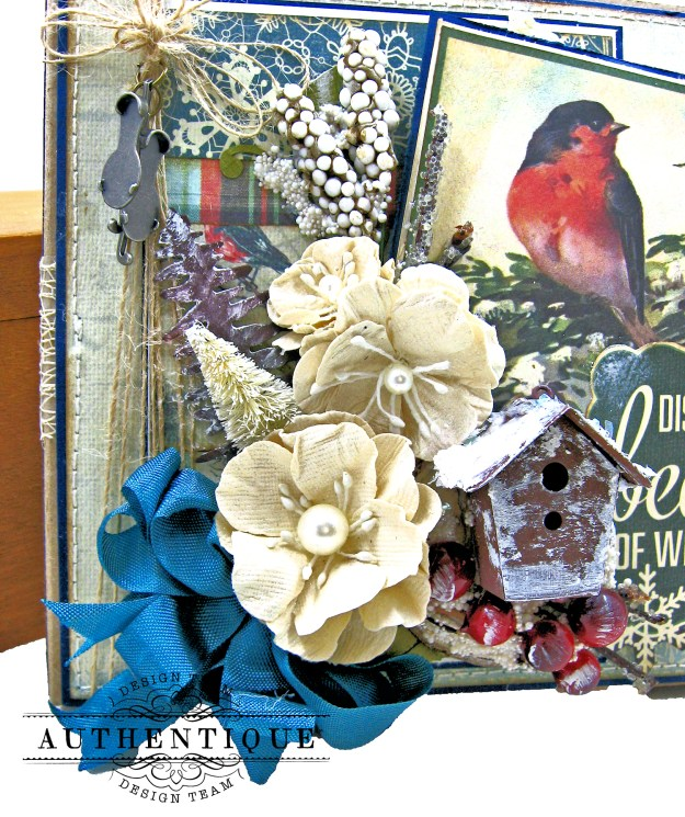 Authentique Solitude Waterfall Folio Tutorial by Kathy Clement Photo 03
