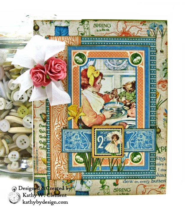 Graphic 45 Children's Hour Stack of Card by Kathy Clement Kathy by Design Photo 05