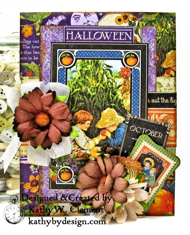 Graphic 45 Children's Hour Stack of Card by Kathy Clement Kathy by Design Photo 11