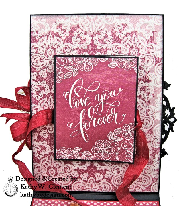 Authentique Romance Love Lives Here Valentine Card Folio by Kathy Clement Kathy by Design Photo 04