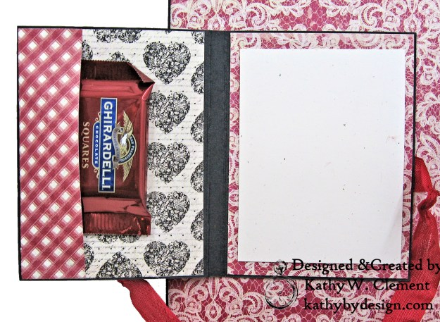 Authentique Romance Love Lives Here Valentine Card Folio by Kathy Clement Kathy by Design Photo 05