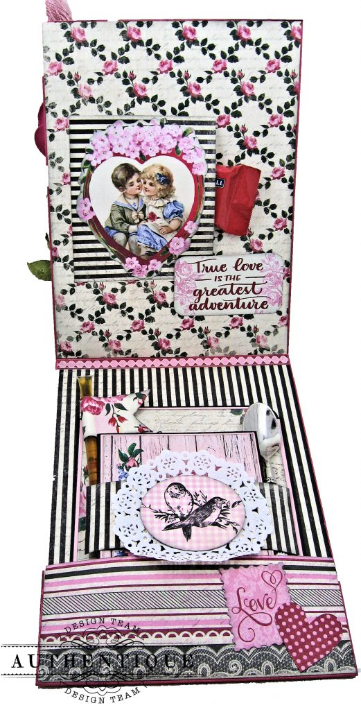 Authentique Romance Shaker Valentine Tutorial by Kathy Clement Kathy by Design Photo 06