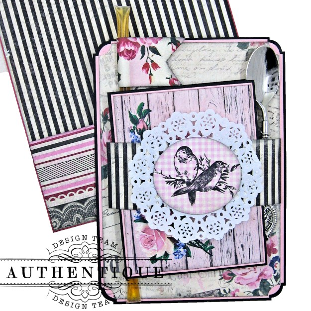Authentique Romance Shaker Valentine Tutorial by Kathy Clement Kathy by Design Photo 09