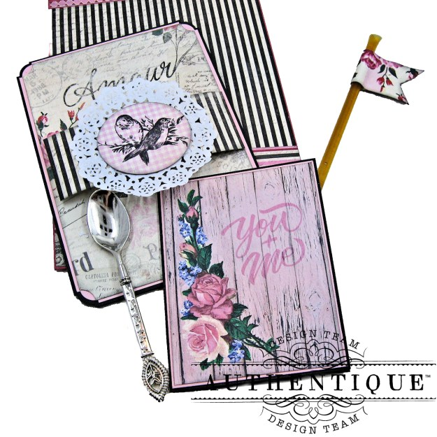 Authentique Romance Shaker Valentine Tutorial by Kathy Clement Kathy by Design Photo 10