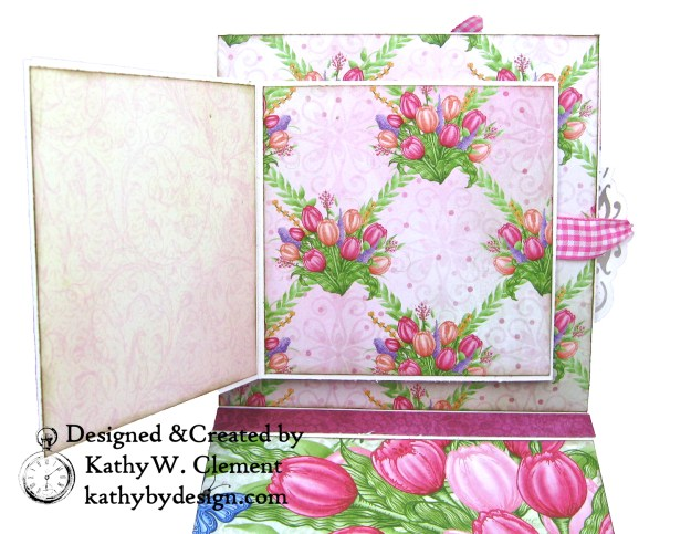 Heartfelt Creations Tulip Time Shaker Card by Kathy Clement for the Heartfelt Creations Alumni Hop photo 06