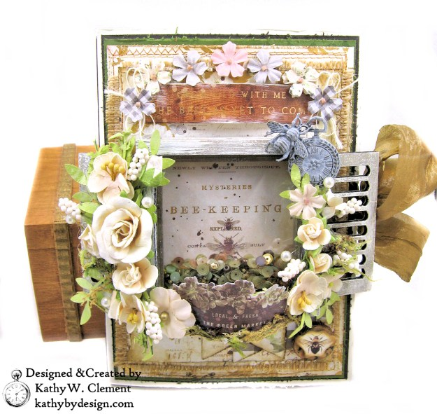 Prima Spring Farmhouse Shaker Folio by Kathy Clement for The Funkie Junkie Boutique Photo 01