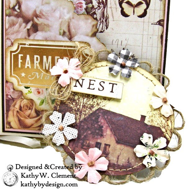 Prima Spring Farmhouse Magnet Kathy by Design