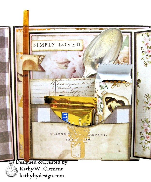 Prima Spring Farmhouse Box Style Pocket Kathy by Design