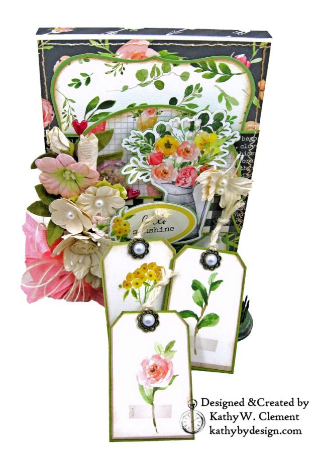 Card Folio Carta Bella Spring Market Kathy by Design