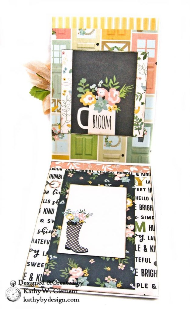 Rain Boot Shaker Card Simple Stories Spring Farmhouse by Kathy Clement Kathy by Design Photo 04