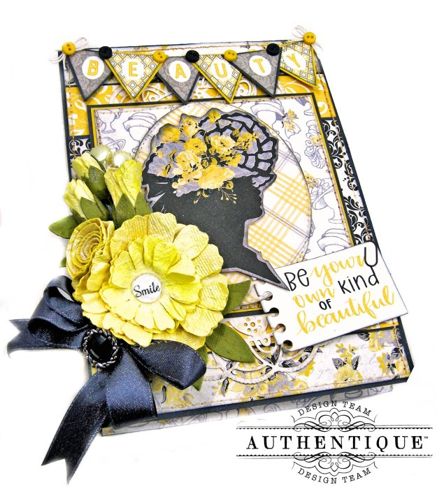 Authentique Beautiful Poised Card Folio Tutorial by Kathy Clement Kathy by Design Photo 03