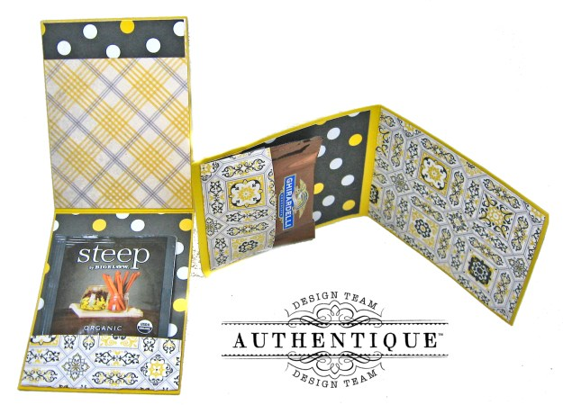 Authentique Beautiful Poised Card Folio Tutorial by Kathy Clement Kathy by Design Photo 09
