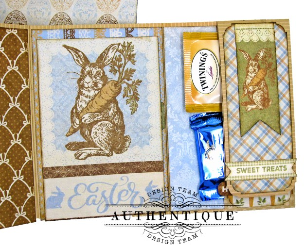 Authentique Abundant Baby Easter Bunny Card Folio by Kathy Clement Kathy by Design Photo 08