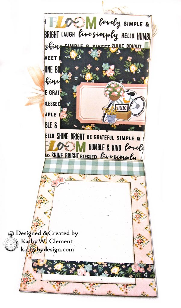 Simple Stories Spring Farmhouse Blooming Bicycle Card by Kathy Clement Kathy by Design Photo 04