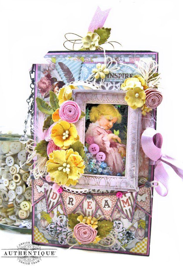 Authentique Dreamy Folio Tutorial Kathy Clement Kathy by Design Photo 01