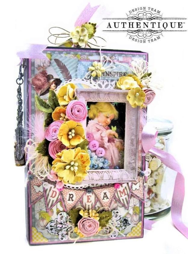Authentique Dreamy Folio Tutorial Kathy Clement Kathy by Design Photo 02