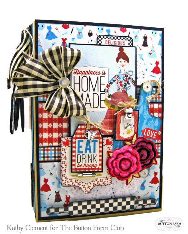 Button Farm Club Authentique Ingredient Recipe Album Kit by Kathy Clement Kathy by Design Photo 01