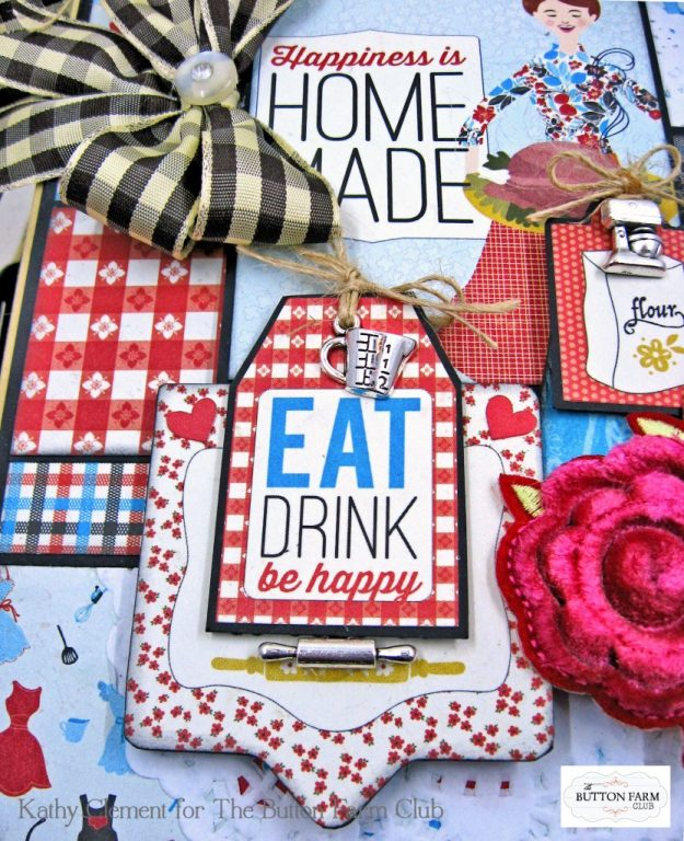 Button Farm Club Authentique Ingredient Recipe Album Kit by Kathy Clement Kathy by Design Photo 03