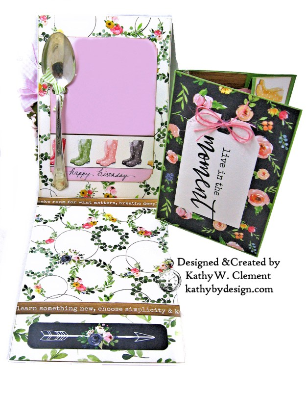 Carta Bella Spring Market Birthday Card by Kathy Clement Kathy by Design Photo 04