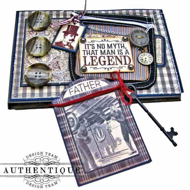 Authentique Mister Pocket Card by Kathy Clement Kathy by Design Photo 03