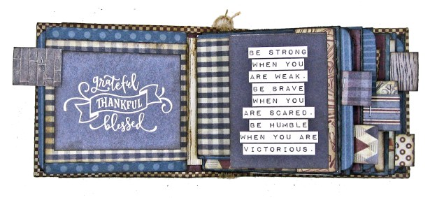 Authentique Mister Desk Organizer Kit for Dad by Kathy Clement Kathy by Design for The Button Farm Club Photo 07