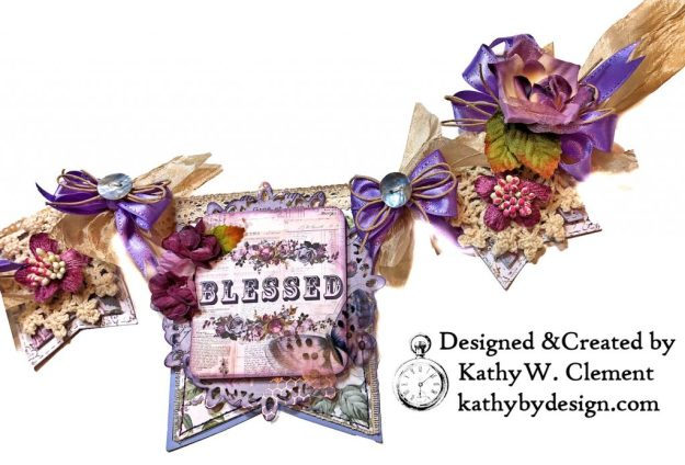 Prima Lavender Lilac Season Banner by Kathy Clement Kathy by Design Photo 09