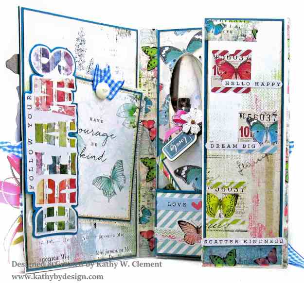 Simple Stories Simple Vintage Botanicals Folio by Kathy Clement for Really Reasonable Ribbon Photo 05
