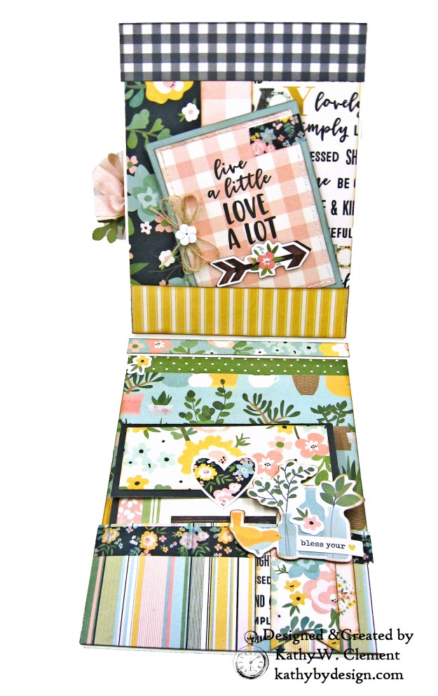 Simple Stories Spring Farmhouse Simply Blessed Card Folio by Kathy Clement Kathy by Design Photo  05