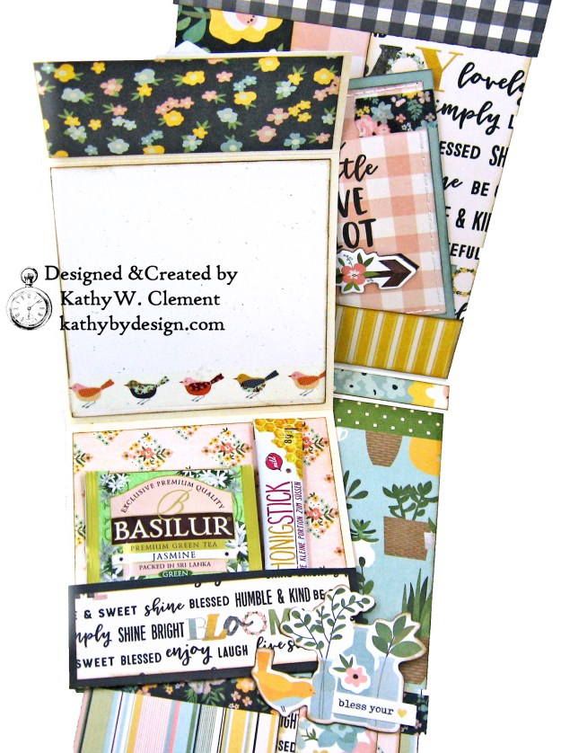 Simple Stories Spring Farmhouse Simply Blessed Card Folio by Kathy Clement Kathy by Design Photo 07