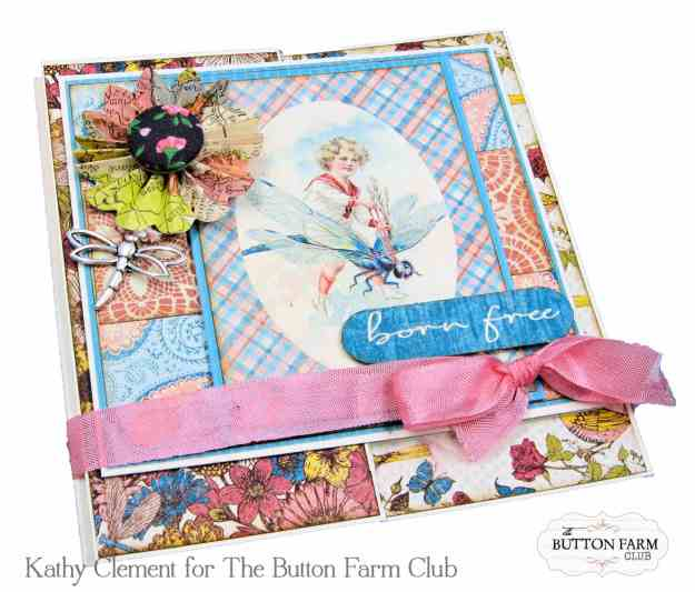 Authentique Endless Summer Card Kit for The Button Farm Club by Kathy Clement Kathy by Design Photo 06