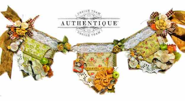 Authentique Gracious Tea Themed Banner by Kathy Clement Kathy by Design Photo 01