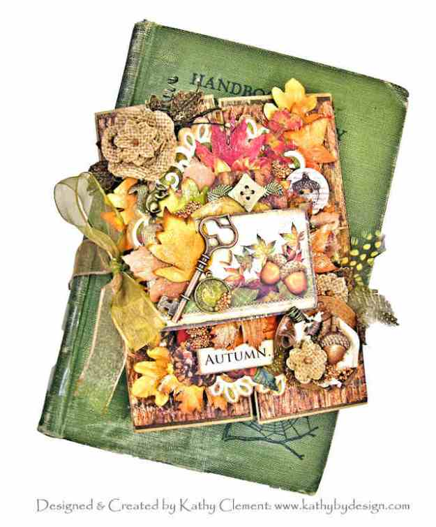 Ciao Bella Sound of Autumn Gatefold Folio by Kathy Clement