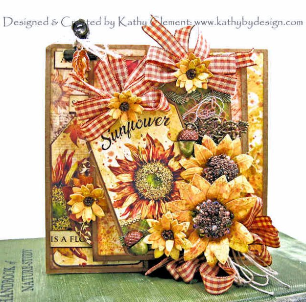 Heartfelt Creations Classic Sunflowers Kathy Clement Kathy by Design Photo 01