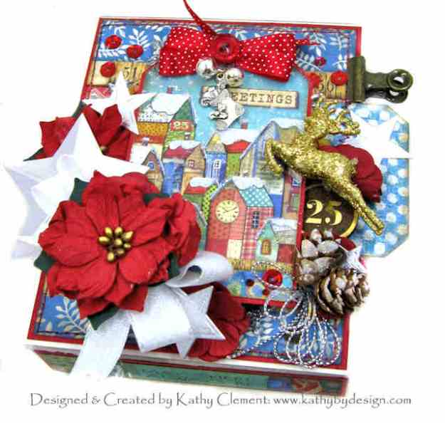 Stamperia Make a Wish Starry Night Box Folio by Kathy Clement Kathy by Design Photo 01