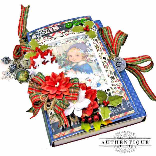Authentique Calendar Collection Christmas Joy Shaker Folio by Kathy Clement Kathy by Design Photo 01