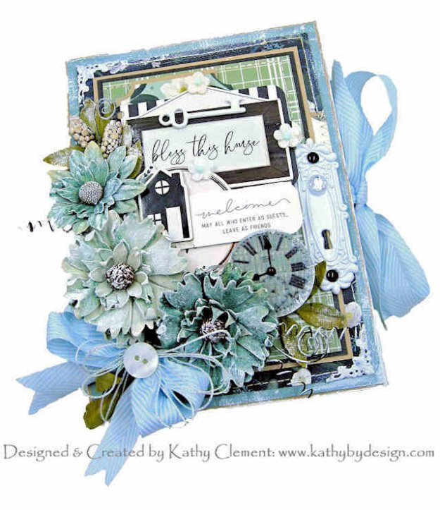 Carta Bella Home Again Envelope Flip Book Tutorial by Kathy Clement Kathy by Design Photo 01