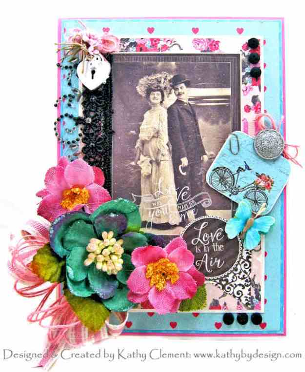 Authentique Crush Vintage Style Valentine by Kathy Clement Kathy by Design Photo 01