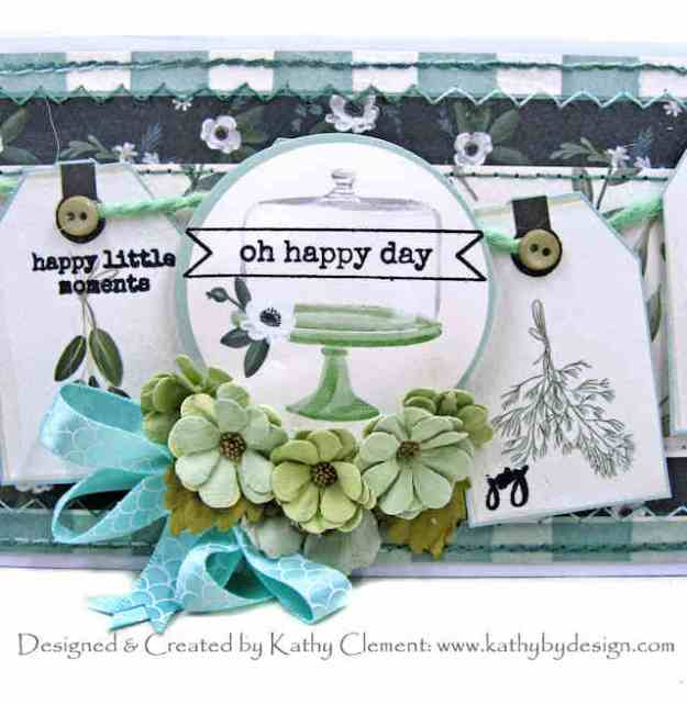Carta Bella Home Again Birthday Card Kathy Clement Kathy by Design PHoto 01