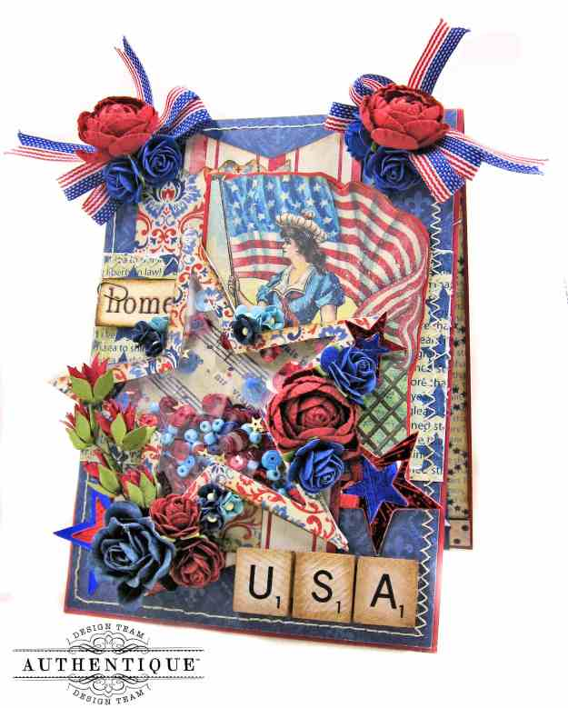 Authentique Liberty Pop Up Shaker Card by Kathy Clement Kathy by Design PHoto 01