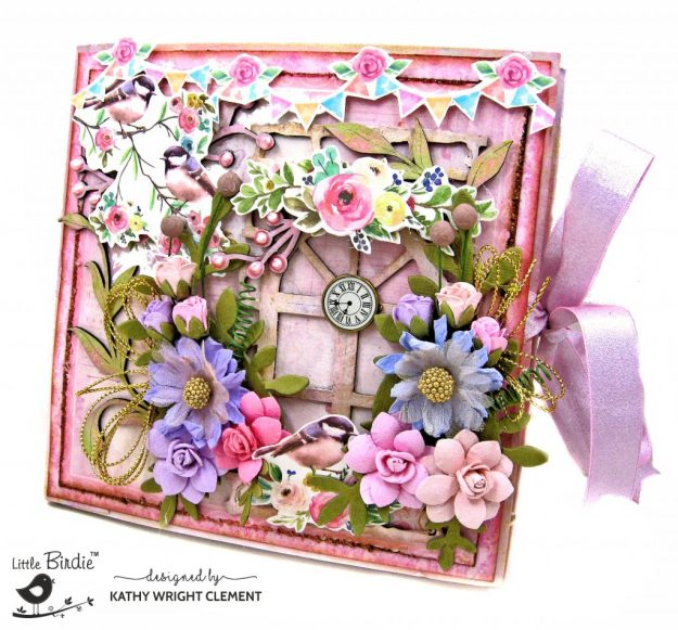 Little Birdie Crafts Celebrate Life Pocket Folio Tutorial by Kathy Clement Kathy by Design Photo 01