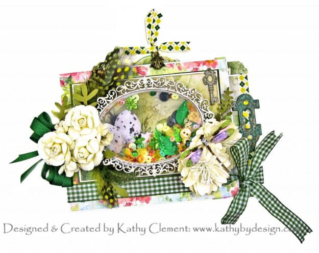 Ciao Bella Micro Cosmos Joy Fold Shaker Card Folio with Really Reasonable Ribbon August 2020 Ribbon Club by Kathy Clement Kathy by Design Photo 01